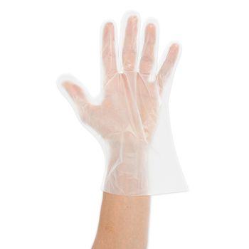 Перчатки PLA биоразлагаемые, размер M, прозрачный, 500шт, NATURESTAR, FM