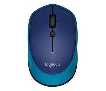Logitech Wireless M335 Optical Mouse for Notebooks, nano receiver, Blue