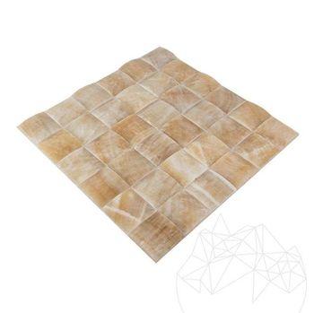 купить Мозаика Оникс Медовая пирамида полированная 5 х 5см в Кишинёве