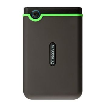"Transcend External 500Gb 2.5"" Case ""StoreJet 25M3"" Rubber, Anti-Shock, (USB3.0)"