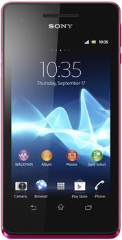 Sony Xperia V (LT25i) Pink