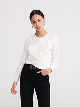 Блуза RESERVED Белый ye323-01x