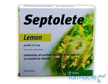 купить Септолете лимон табл.1.2мг N9x2 в Кишинёве