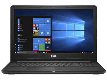 "DELL Inspiron 15 3000 Black (3576), 15.6"" FullHD (Intel® Quad Core™ i5-8250U 1.60-3.40GHz (Kaby Lake R), 8GB DDR4 RAM, 1.0TB HDD, AMD Radeon™ 520 2GB DDR5, DVDRW8x, CardReader, WiFi-AC/BT4.1, 4cell, HD 720p Webcam, RUS, Ubuntu, 2.3kg )"