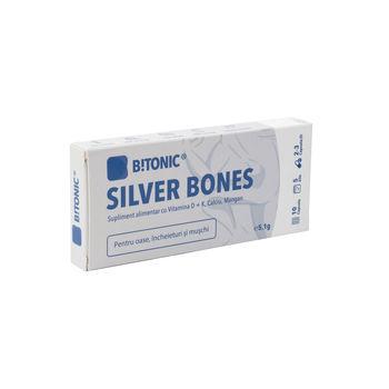 cumpără Bitonic Silver Bones Ca-vit.D-vit.K-Mn Glucozamin N10 în Chișinău