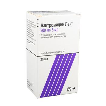 cumpără Azithromycin Lek 200mg/5ml 20ml pulb./susp. orala N1 în Chișinău