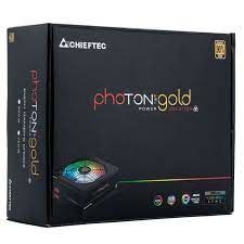 Блок питания ATX 650W Chieftec PHOTON GOLD GDP-650C-RGB, 80+ Gold, Active PFC, 140mm, Modular, RGB