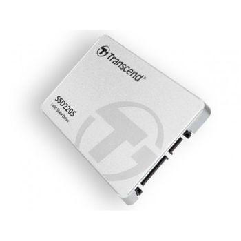2,5-дюймовый твердотельный накопитель SATA 480 ГБ Transcend «SSD220» [R / W: 540/500 МБ / с, 50/80 000 операций ввода-вывода в секунду, SM2256, NAND TLC]