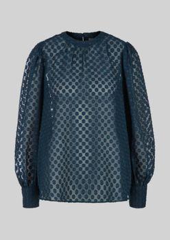 Блуза s.Oliver Темно зеленый