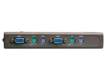D-Link DKVM-4K, Auto KVM Switch, 4 PCs to 1 USER, (PS/2), Desktop (switch KVM pentru 4PC - 1utilizator/двухпортовый переключатель KVM для 4 ПК - 1 пользователь)