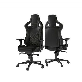 Игровое кресло Noble Epic NBL-PU-GOL-002 Black / Gold,