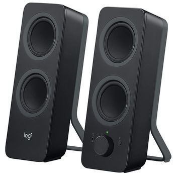 Logitech Z207 Black Bluetooth Stereo Speakers 2.0 ( RMS 5W, 2x2.5W satel.), 980-0001295 (boxe sistem acustic)