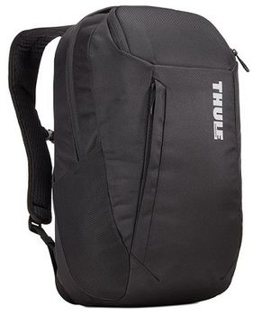 "14-15"" NB Backpack - THULE Accent 20L, Black, Safe-zone, 1680D Polyester, Dimensions: 28 x 24 x 44  cm, Weight 0.93 kg, Volume 20L"