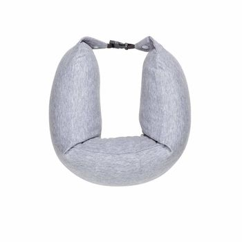 "XIAOMI ""8H Travel U Shaped Pillow"" Sleeping Cushion, Grey, Material: Cotton, Occasion: Bedroom,Dining Room,Living Room,Office,School, 76 x 11 x 6.5 cm, 0.43 kg, Quality of the natural latex fluid from Rayong"