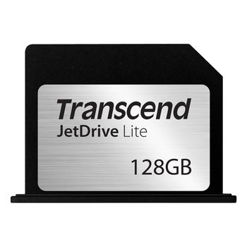 "Transcend JetDrive Lite 360 128GB storage expansion cards for the MacBook Pro (Retina) 15"" (Late 2013/ Mid 2014/ Mid 2015), Read: 95Mb/s, Write: 60Mb/s, Water/ Shock/Dust Proof,"