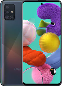 купить Samsung Galaxy A51 6/128Gb Duos (SM-A515), Black в Кишинёве