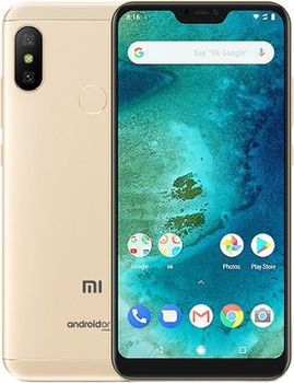 "Xiaomi Mi A2 EU 32GB Gold, DualSIM, 5.99"" 1080x2160 IPS, Snapdragon 660, Octa-Core up to 2.2GHz, 4GB RAM, Adreno 512, 12MP+20MP/20MP, LED flash, 3000mAh, WiFi-AC/BT5.0, LTE, Android One, Infrared port, 166g"
