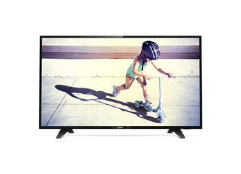 "купить Телевизор Philips 49"" LED TV Full HD 49PFS4132/12, Black в Кишинёве"