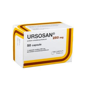 cumpără Ursosan 250mg caps. N10x5 în Chișinău