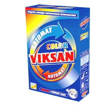 купить Синтетическое моющее универсальное средство «Виксан – Автомат Колор» в Кишинёве