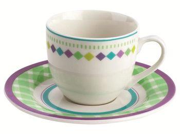 купить Чашка кофейная с блюдцем 75ml Siviglia в Кишинёве