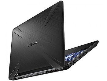 """Ноутбук 15.6"""" ASUS TUF FX505DT, AMD Ryzen 7 3750H 2.3-4.0GHz/16GB DDR4/M.2 NVMe 512GB SSD/GeForce GTX1650 4GB GDDR5/WiFi 802.11AC/BT5.0/USB 3.2/HDMI/Webcam HD/Backlit RGB Keyboard/15.6"""" FHD IPS LED-backlit 144Hz (1920x1080)/No OS/Gaming FX505DT-HN540"""