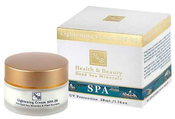 Отбеливающий крем с SPF-20 Health & Beauty 50 мл
