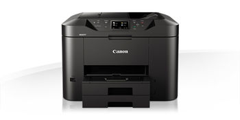MFD Canon MAXIFY MB2740, Colour Print/Copy/Scan/Fax/Net,Wi-Fi+Cloud Link, ADF(50-sheet), A4, Print 600x1200dpi_2pl, Scan 1200x1200dpi, ESAT 24.0/15.5ipm,64-275г/м2,Max.20k pages per month,Paper Input: 500sheets,USB 2.0,4-ink tanks PGI-1400XL BK,C,M,Y