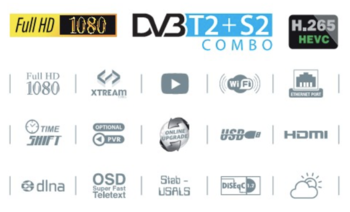 "купить REDLINE LCD TV 32"" HD Ready Combo DVB S2+T2+C HD - H265 - k200 в Кишинёве"