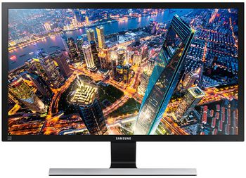 "купить ""28.0"""" SAMSUNG """"U28E590D"""", G.Black/Blue (4K-UHD 3840x2160, 1ms, 370cd, LED Mega-DCR, HDMI+DP) (28"""" TN  W-LED, 4K-UHD 3840x2160, 1ms (GtG), 370 cd/m², Mega ∞ DCR (1000:1), 16.7M, 178°/178° @CR>10, Display Port + 2x HDMI, HDMI Audio-In, Headphone-Out, External Power Adapter, Fixed Stand T-Sape (Tilt -2/+20°), Magicbright, Magicupscale, Eco saving plus, Eye saver mode, Flicker free, Game mode, AMD Freesync,  P-i-P / P-b-P Glossy-Black and Light Blue Touch Of Color T-shape Stand)"" в Кишинёве"