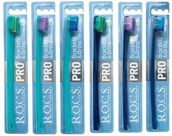 купить Зубная Щетка - R.O.C.S. PRO Brackets Ortho в Кишинёве