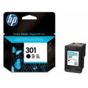 HP No.301 Black ink Cartridges, DeskJet 2050, (190pages)