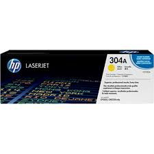 HP Color LaserJet CP2025/CM2320 Printer Cartridge, with ColorSphere Yellow Toner (2800pages)