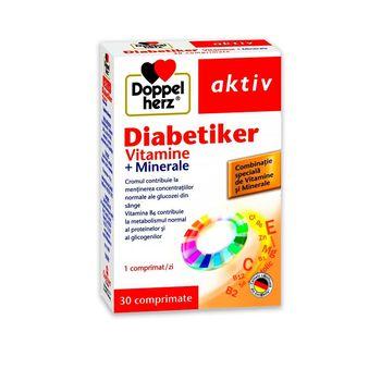 cumpără Diabetiker Vitamine+Minerale comp. N30+10 Cadou Doppelherz în Chișinău