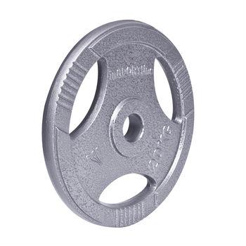 Диск металлический 20 кг d=50 мм inSPORTline 12706 (2737) (под заказ)