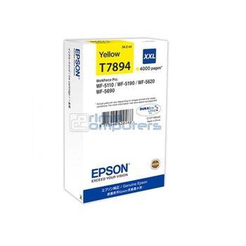 купить Ink Cartridge Epson T789440 yellow WF-5xxx Series Ink Cartridge XXL Yellow в Кишинёве