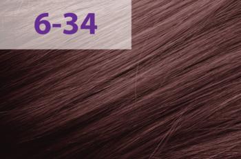 Vopsea p/u păr, ACME jNowa Siena CS, 90 мл., 6/34 - Maro deschis auriu-roșu