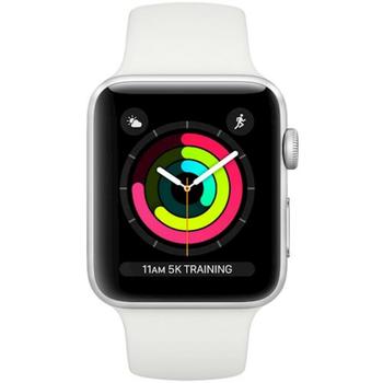 cumpără Apple Watch Series 3, 38mm, Silver Aluminium Case, White Sport Band, MTEY2 în Chișinău