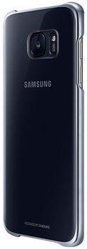 купить Чехол для моб.устройства Samsung EF-QG935, Galaxy S7 EDGE, Clear Cover, Black в Кишинёве