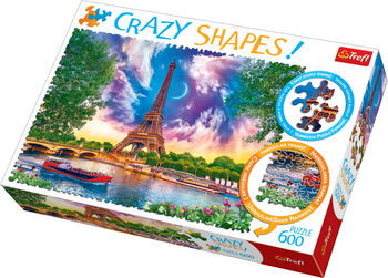 "Пазлы ""600 Crazy Shapes"" - ""Sky over Paris"", код 42162"