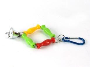 купить Подвесная игрушка с колокольчиком, для попугаев в Кишинёве