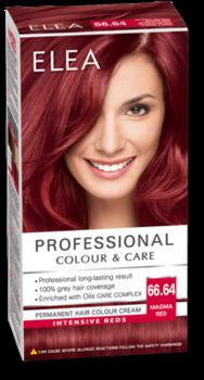 Краска для волос,SOLVEX Elea, 138 мл., 66.64 - Огненно-красный