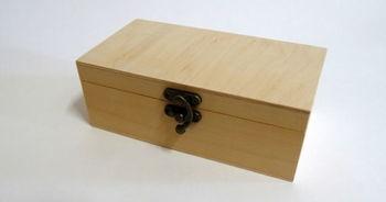 Деревянная коробка 6.5x9x17см