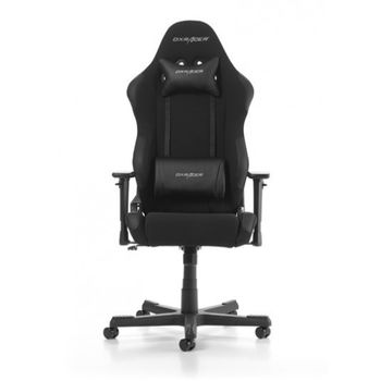 Gaming Chair DXRacer Racing GC-R01-N, Black/Black