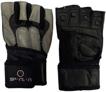Перчатки для фитнеса (натур. кожа) L Spartan Training 254003 (3636)