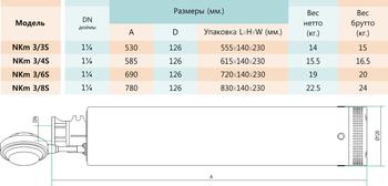 купить Погружной насос Shimge NKm 3/8-1.5S в Кишинёве