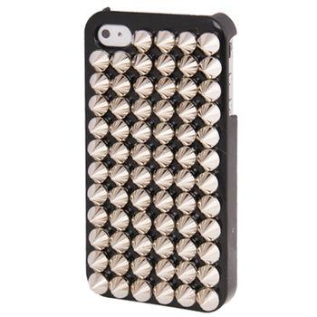 """Чехол """"Шипы"""" серебряные для iPhone 4 / 4S 63387"""