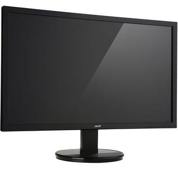 "Монитор 21.5"" ACER LED K222HQL Glossy Black (5ms, 100M:1, 200cd, 1920x1080, 90°/65°, VGA, DVI, HDMI, VESA) [UM.WW3EE.005]"