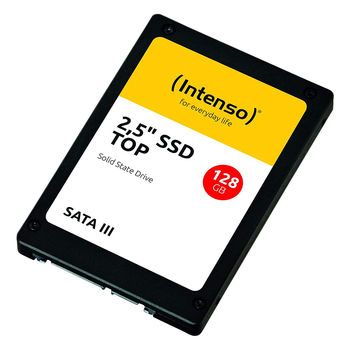 "128GB SSD 2.5"" Intenso Top (3812430), 7mm, Read 520MB/s, Write 500MB/s, SATA III 6.0 Gbps (solid state drive intern SSD)"