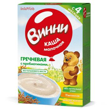cumpără Vinni Terci Lapte cu hrișcă și prebiotice 200g în Chișinău